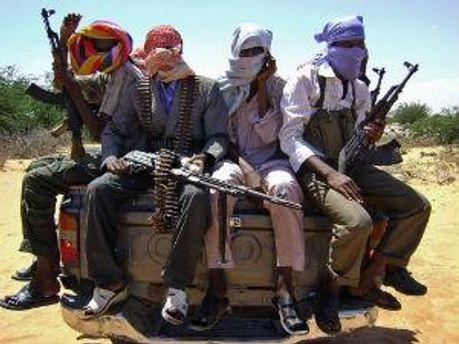 Вооруженные сомалийцы