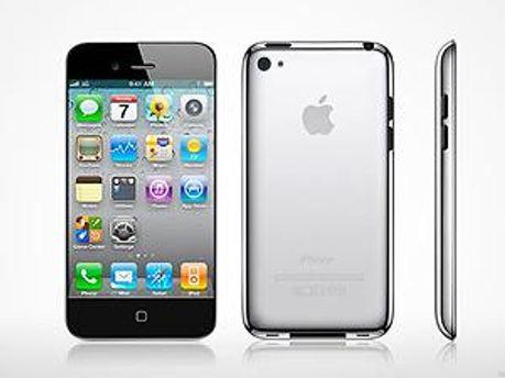 Возможный вид iPhone 5