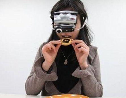 Окуляри зменшують або збільшують вигляд їжі