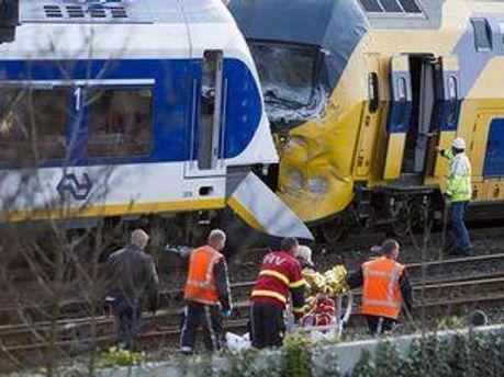 Авария в Амстердаме