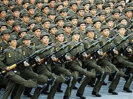 Солдаты в КНДР