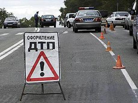 Ілюстрація. Оформлення ДТП у Росії