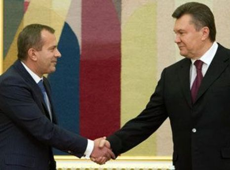 Андрій Клюєв та Віктор Янукович