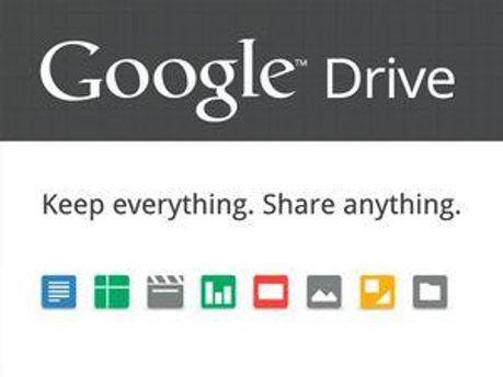 Зображення зі сторінки Google Drive на Google Play