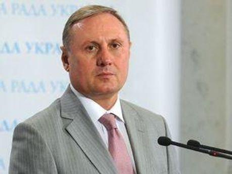 Лідер фракції ПР Олександр Євремов