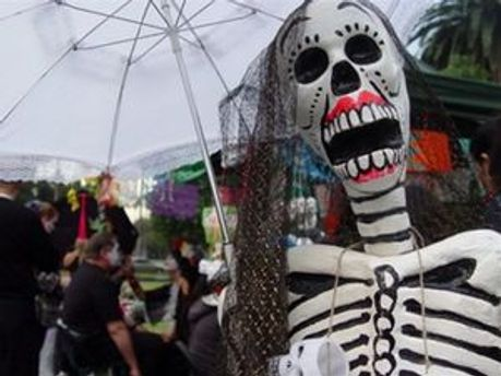 Празднование Дня мертвых в Латинской Америке