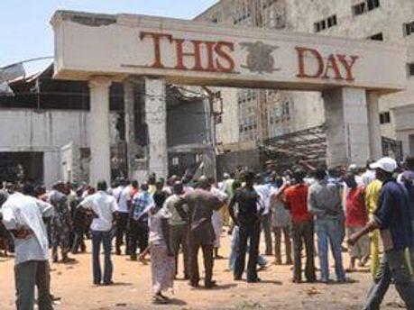 Взрыв в редакции газеты