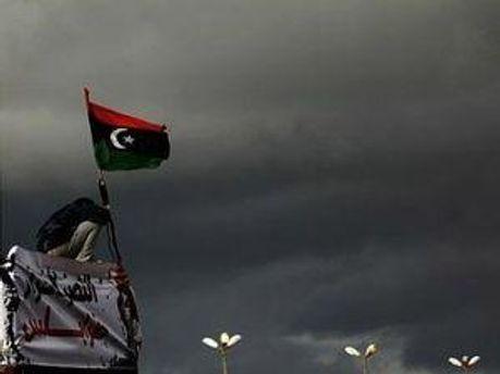 Лівієць із прапором