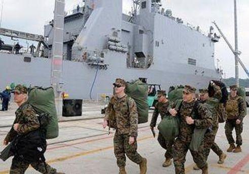 Американские военные на Окинаве