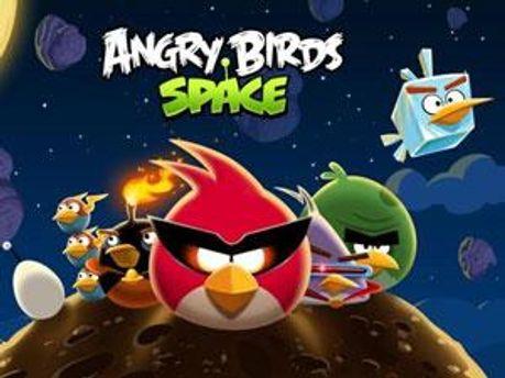 Головна картинка у Angry Birds Space