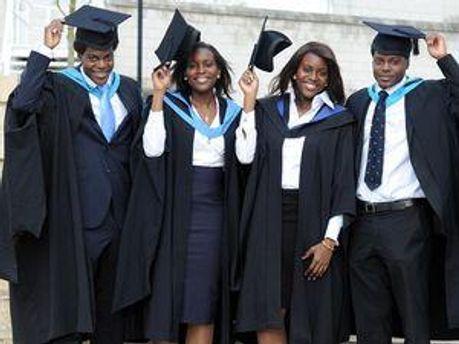 Нигерийские студенты