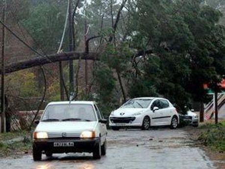 Ураган у Франції