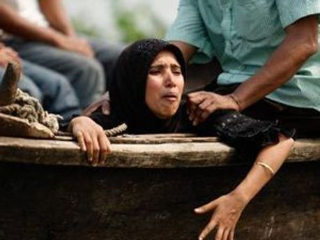 Родственники погибших и пропавших без вести