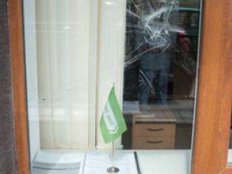 Обстрелянное окно