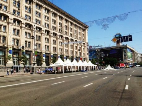 Фан-зона ЄВРО-2012 в Києві