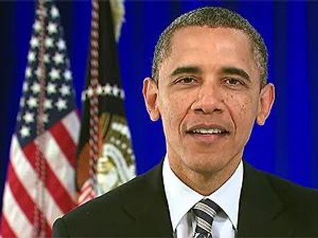 Президент США Барак Обама. Кадр із відеозвернення