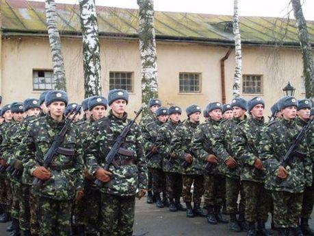 Прийняття присяги у військовій частині А4623