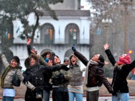 Аргентинці закутались у шарфи