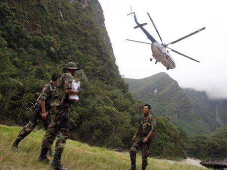 Вертолет принадлежит компании Heli Cusco