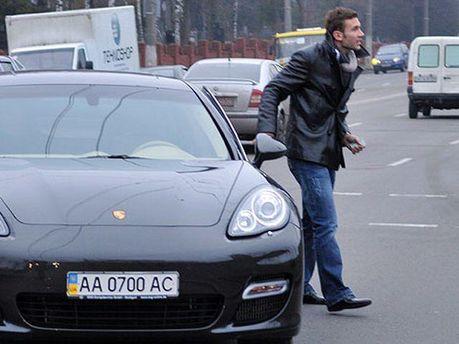 Андрей Шевченко и его автомобиль