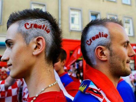 Хорватские болельщики