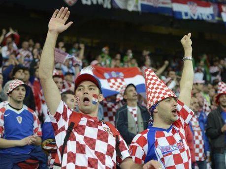 Хорватські вболівальники