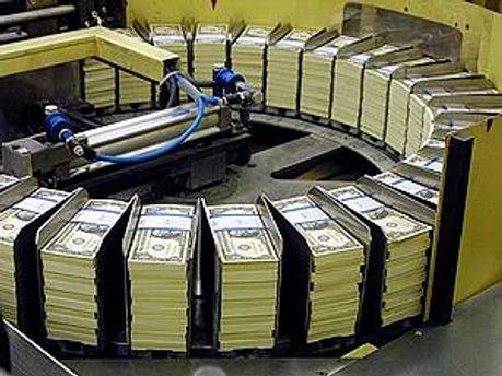 На производстве долларов