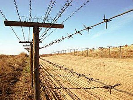 Граница в Казахстане. Иллюстрация