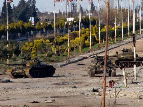Сутички в Сирії