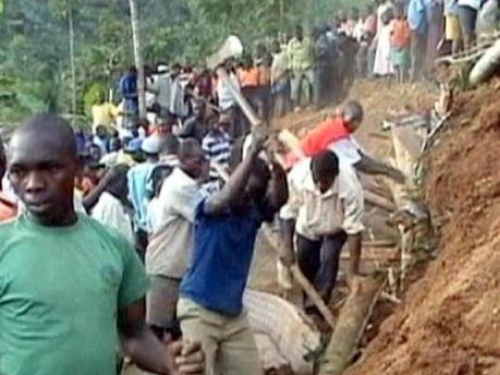 Зсув в Уганді