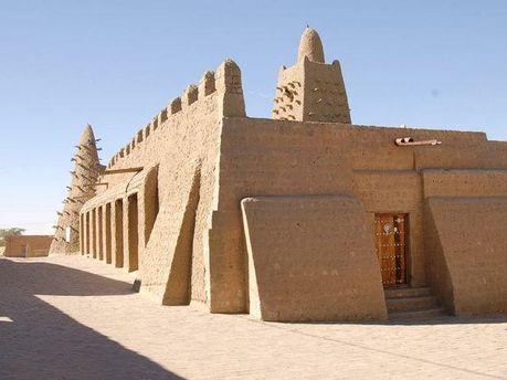 Здания в Тимбукту