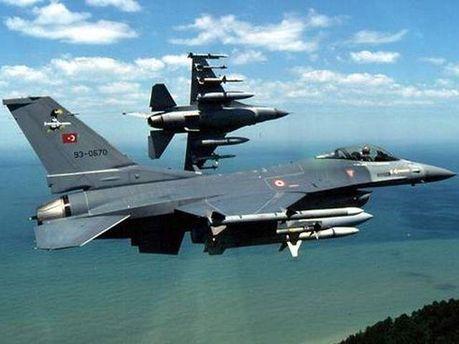 Турецькі винищувачі Ф-16
