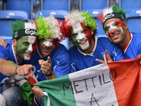 Итальянские фаны