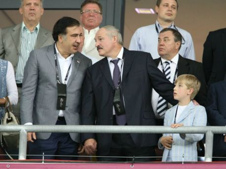 Александр Лукашенко и Михаил Саакашвили