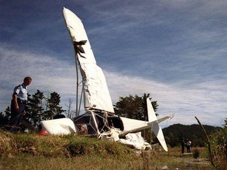 Причини падіння літака встановлюють