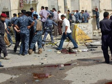 Результат взрыва в Ираке