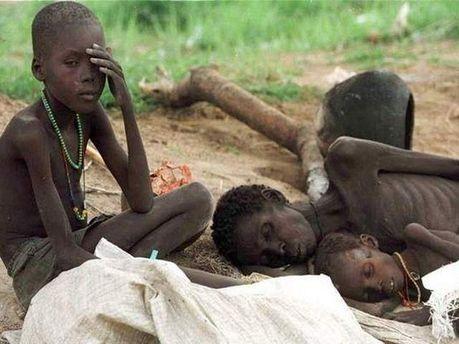Низка країн Африки найбільше потерпають від бідності