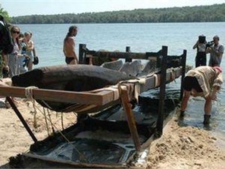 500-летняя лодка