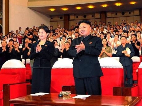 Хен Сонг-Вол и Ким Чен Ын