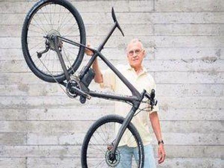 Самый легкий в мире горный велосипед