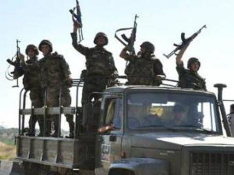 Сирийский солдат