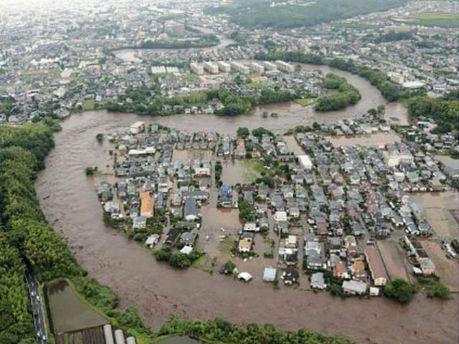 Повінь а Японії