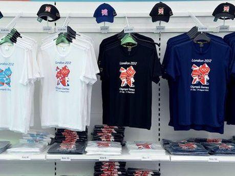Футболки з олімпійською символікою