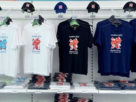 Футболки с олимпийской символикой