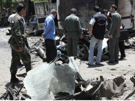 Нападение в Дамаске