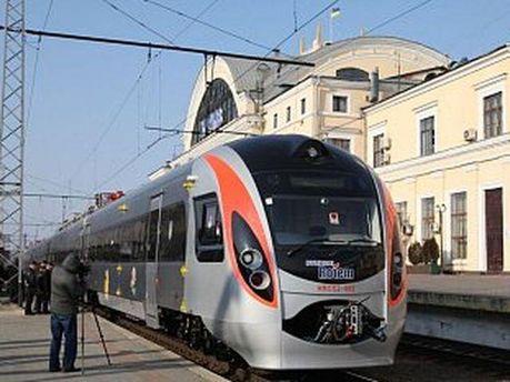 Новый скоростной поезд Hyundai