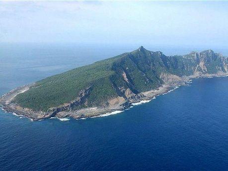 Один из островов Сенкаку