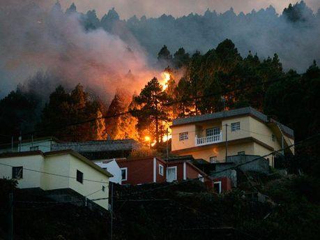 Пожар в Италии