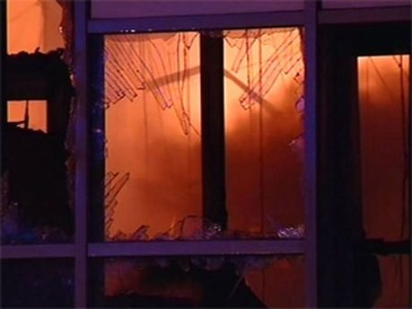 Пожежа в будинку в Одесі
