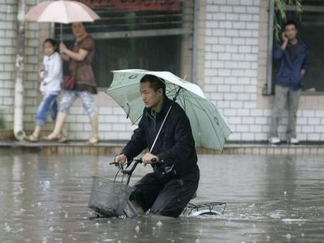 Дожди в Китае